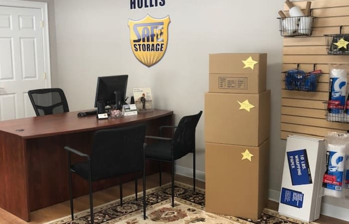 Packing supplies are available at Safe Storage in Hollis, Maine