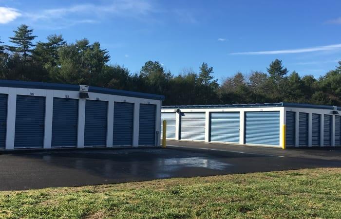 Safe Storage features exterior storage units in East Baldwin, Maine