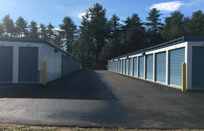 Safe Storage has clean exterior storage units in East Baldwin, Maine