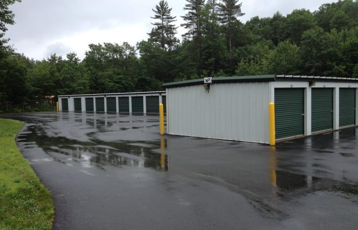 Safe Storage features exterior storage units in Parsonsfield, Maine
