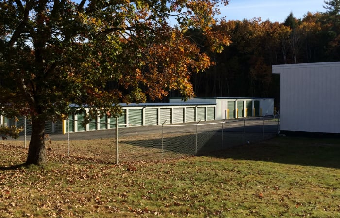 Safe Storage in Parsonsfield, Maine, is fully fenced