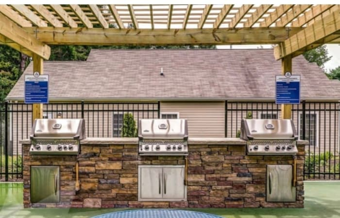 BBQ Area at The Residences at Forest Grove in Newport News, Virginia