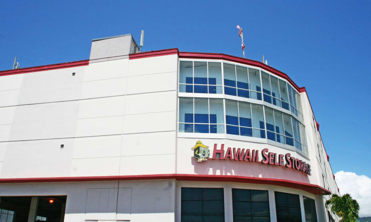 Exterior of our facility in Honolulu at Hawai'i Self Storage
