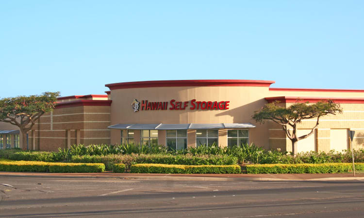 Exterior of our self storage facility at Hawai'i Self Storage in Kapolei