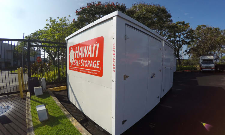 Pod storage and more at Hawai'i Self Storage in Mililani