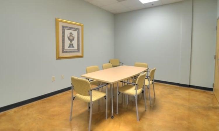 Meeting room at Atlantic Self Storage