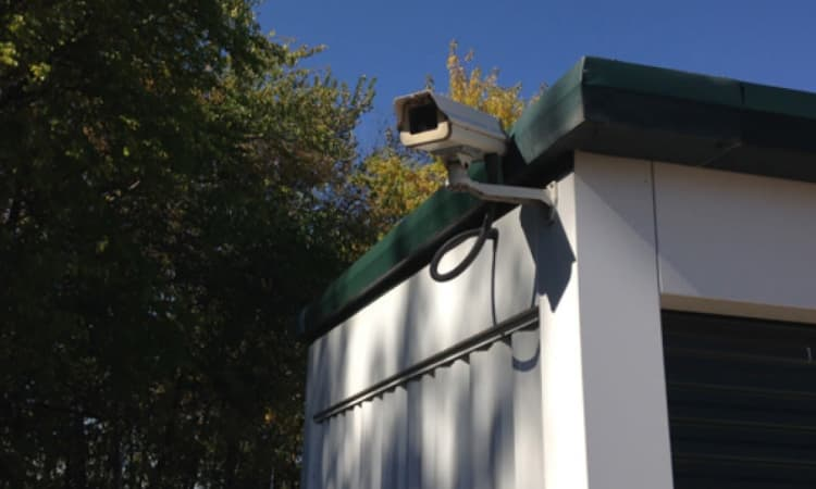 Security cameras at Squirrel Storage Des Moines