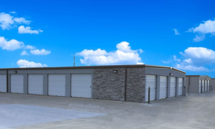 Storage units with drive-up access at Squirrel Storage Pleasant Hill in Pleasant Hill