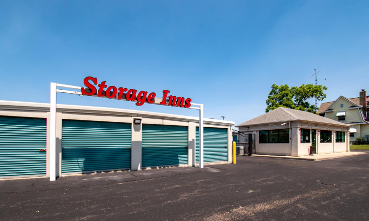 Exterior view at Storage Inns of America in Dayton, Ohio