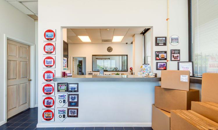 Storage Inns of America leasing office in Huber Heights, Ohio