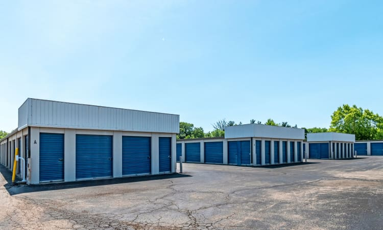 Outdoor units at Storage Inns of America in Huber Heights, Ohio