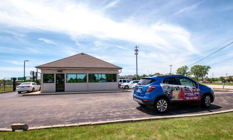 Exterior view at Storage Inns of America in Beavercreek, Ohio