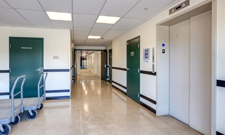 Elevators at Chelmsford Storage Solutions