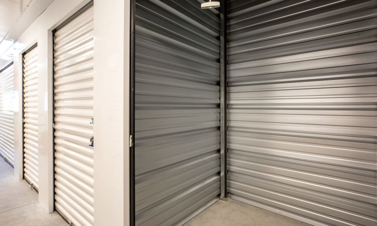Climate controlled units at Maynard Storage Solutions