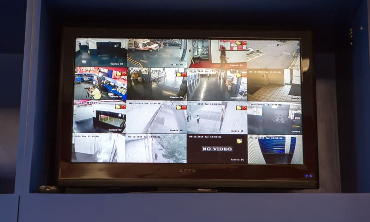 Security Monitor at American Self Storage in Bronx, New York