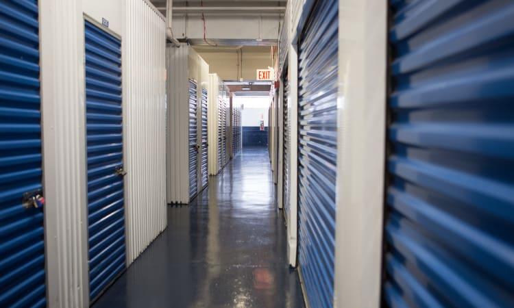Interior units at American Self Storage in Bronx, New York