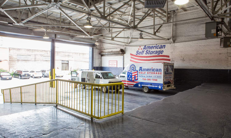 Truck access at American Self Storage in Long Island City, New York