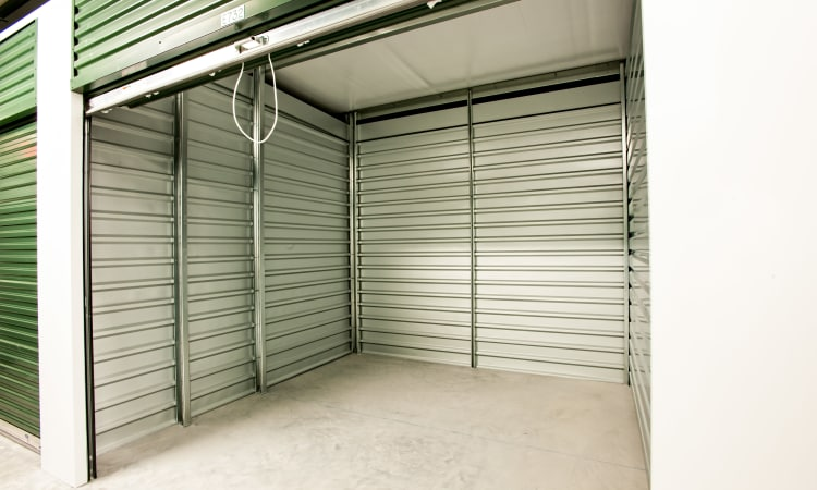 Open unit at American Self Storage in West Long Branch, New Jersey