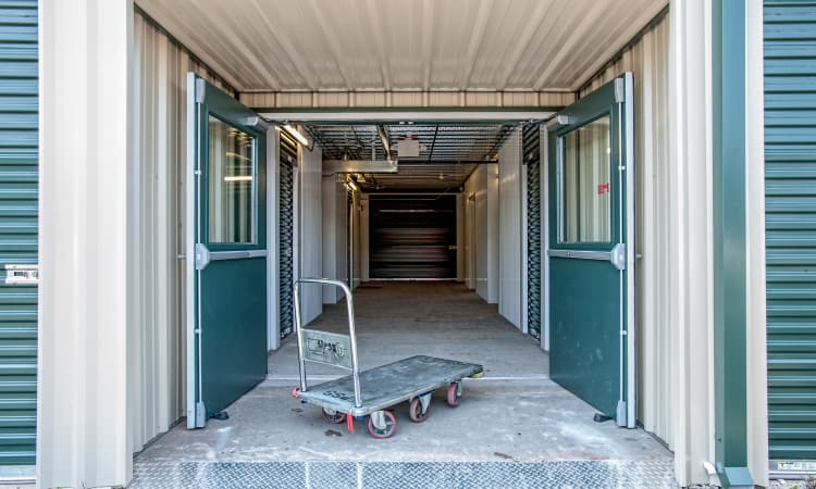 Cart for use at American Self Storage in West Long Branch, New Jersey