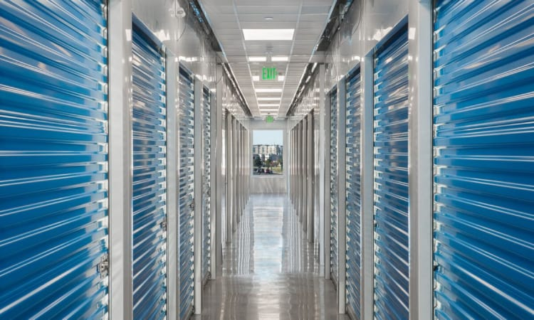 Climate controlled units available at BlueMountain Self Storage and Wine Lockers