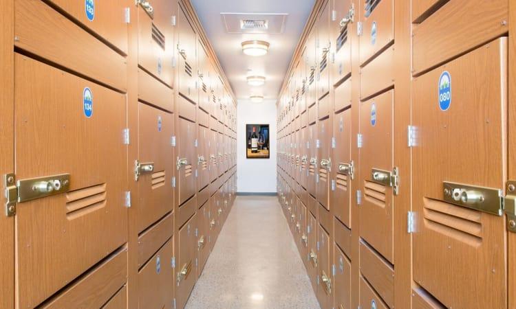 Wine storage available at BlueMountain Self Storage and Wine Lockers