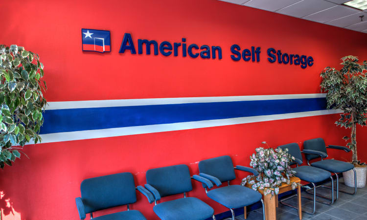 American Self Storage lobby area in Staten Island, New York
