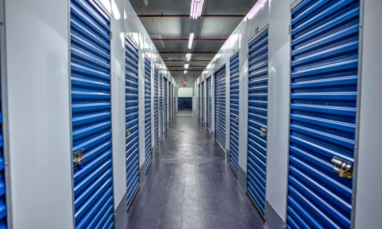 Self storage lockers at American Self Storage in Staten Island, New York