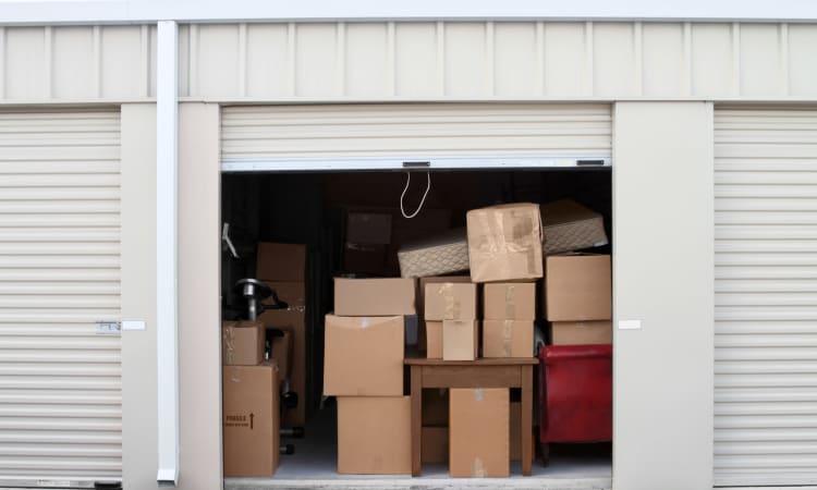 Outdoor storage unit at Towne Storage in Las Vegas, Nevada