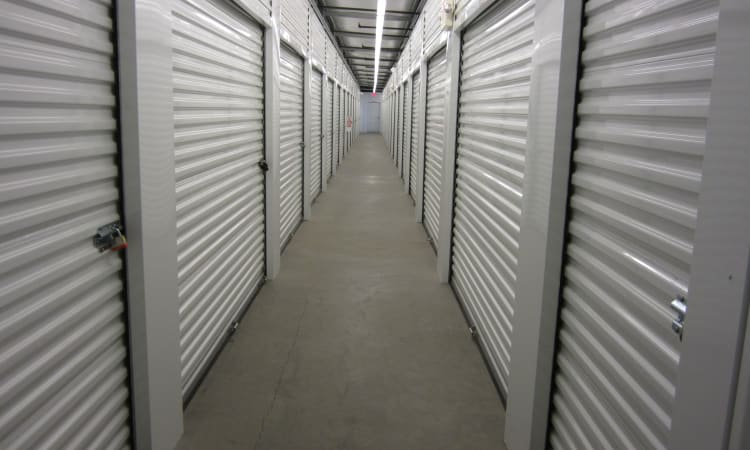 Interior units  at Absolute Self Storage in Thousand Palms, California