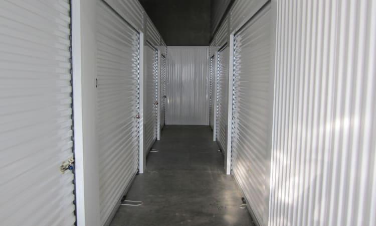 Indoor units at Daytona RV & Boat Storage in Perris, California