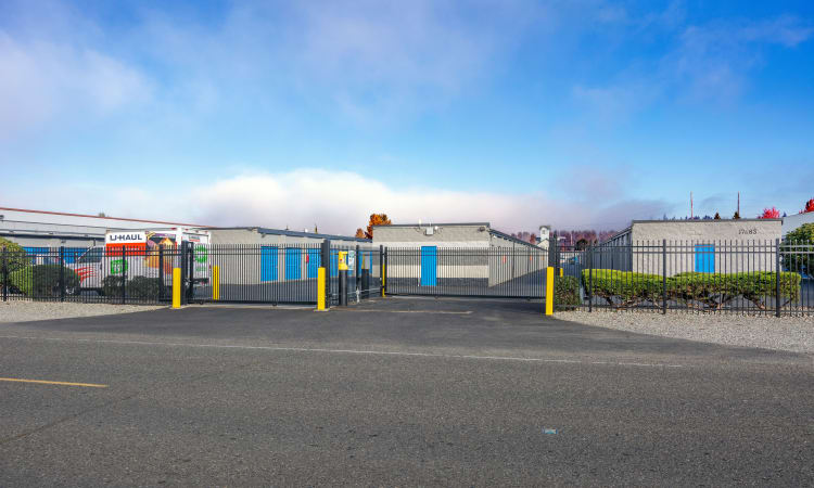 Glacier West Self Storage features exterior storage units in Monroe, Washington