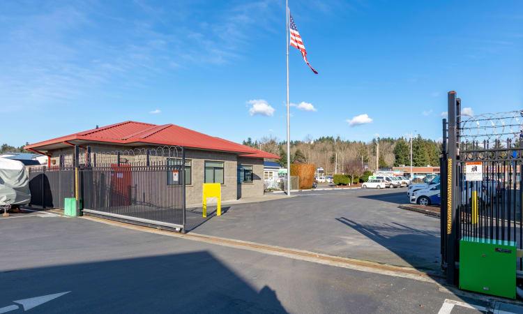Kent, Washington storage facility storage units at Glacier West Self Storage