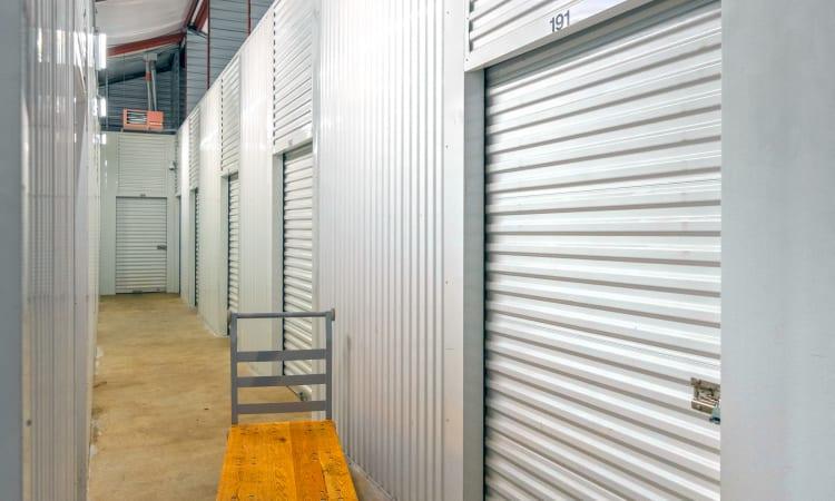 Glacier West Self Storage in Kent, Washington, interior storage units