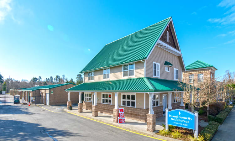 Island Security Self Storage features RV and boat parking in Vashon, Washington