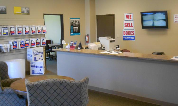 Aarons Self Storage 3 in Waco, Texas, office