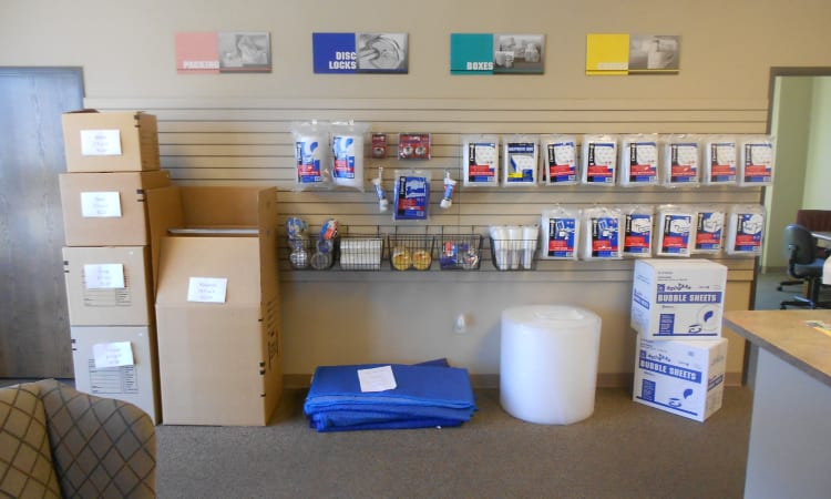 Aarons Self Storage 3 in Waco, Texas, offers packing supplies