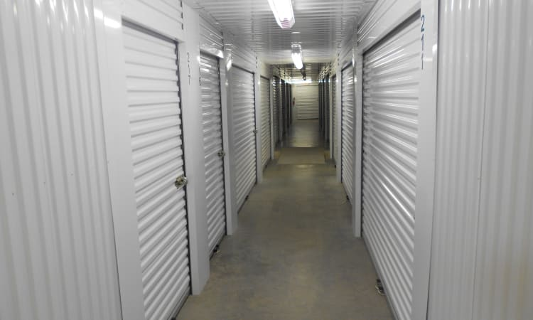 Aarons Self Storage 4 in Waco, Texas, indoor storage