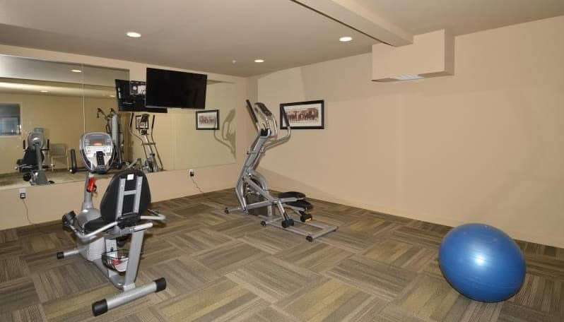 Fully equipped fitness center at Affinity at Coeur d'Alene