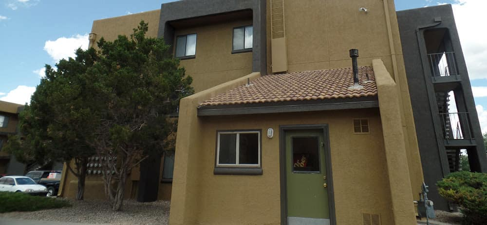Exterior view of the Vista Alegre laundry facility