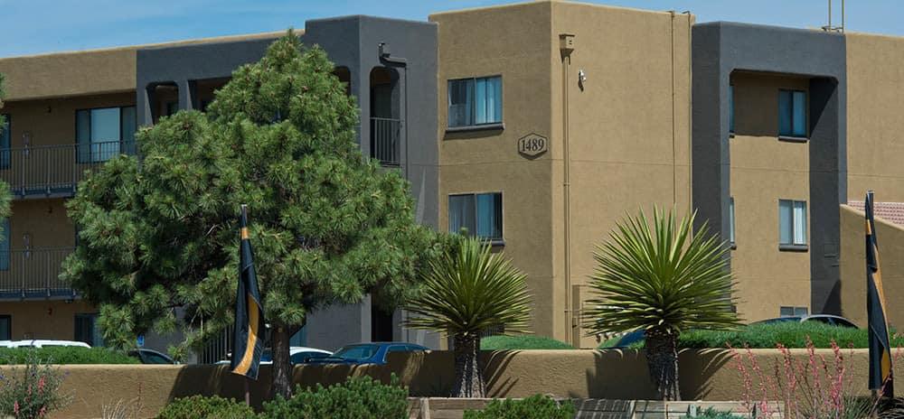 Apartment buildings at Vista Alegre