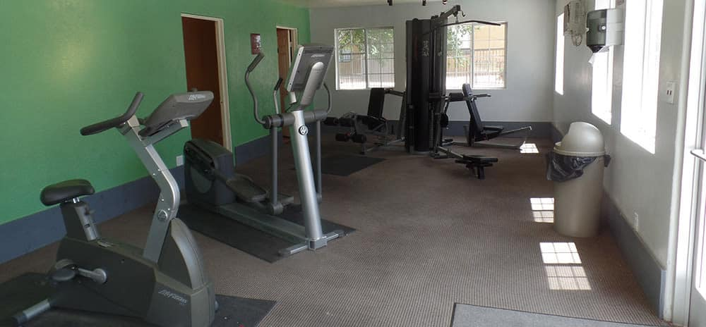 Stay healthy in our fitness center in Santa Fe