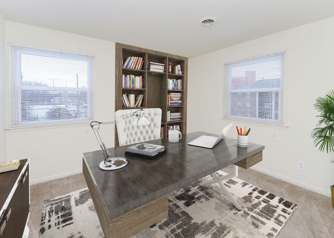 Home Office at Apartments in Dover, Delaware