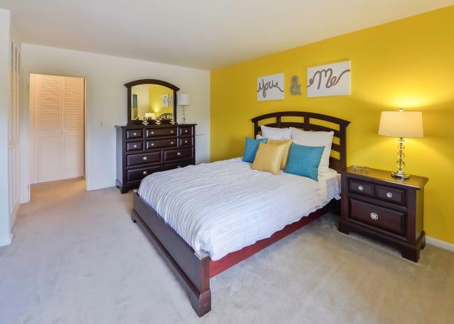 Bedroom at Apartments in Scranton, Pennsylvania