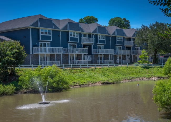 Front view of Mallards Landing Apartment Homes in Nashville, Tennessee