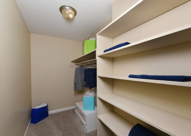 Closet at Mallards Landing Apartment Homes in Nashville, Tennessee