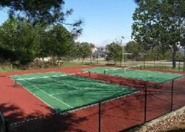 Tennis courts at The Residences at Stonebrook in Nashville, Tennessee