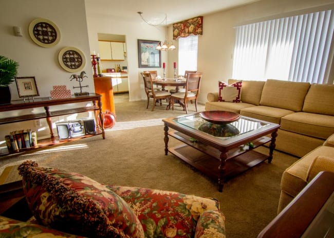 Open floor plans available at Marchwood Apartment Homes in Exton, Pennsylvania.