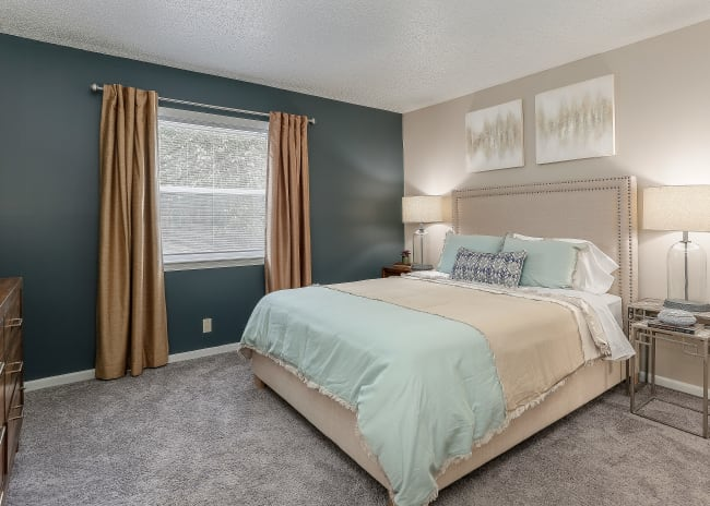 Spacious Bedroom at The Residences at Stonebrook in Nashville, Tennessee