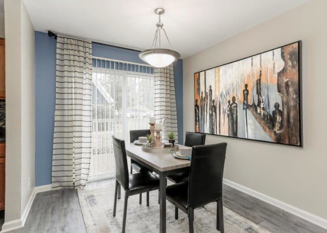 Dining Room Area at Mallards Landing Apartment Homes in Nashville, TN