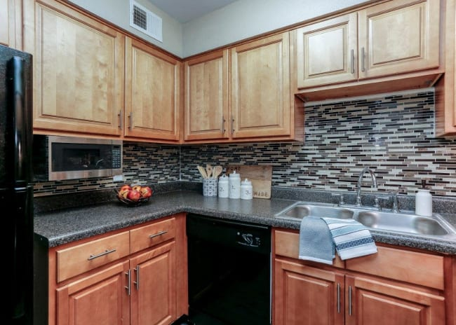 Kitchen at Mallards Landing Apartment Homes in Nashville, Tennessee